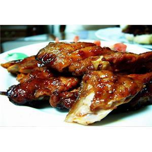锅烧野鸡片
