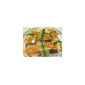 绿芥蔬菜卷