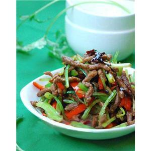 面丝煸芹菜