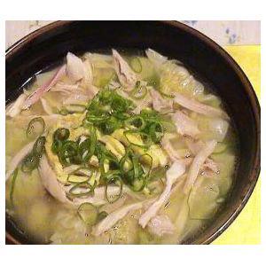 紫菜鸡丝汤