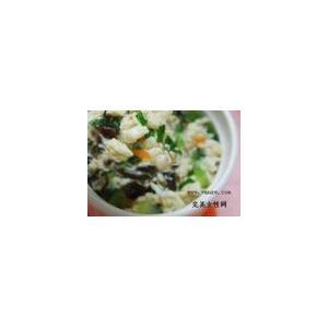 珍珠黑菜汤