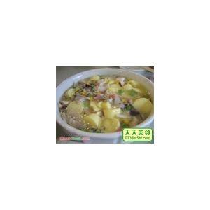 奶油龙虾鱼片汤