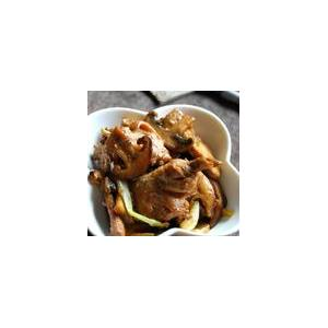香菇拌鸡肉