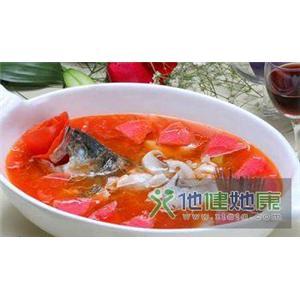 番茄鱼肉末