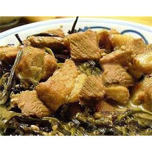 蕨菜烧牛肉