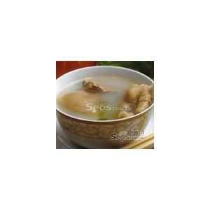 鸡爪猪骨奶白汤