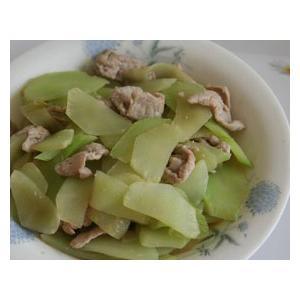 肉片炒莴笋