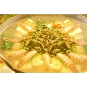 莼菜虾羹汤