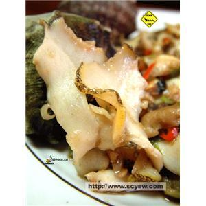 蘑菇炒螺肉