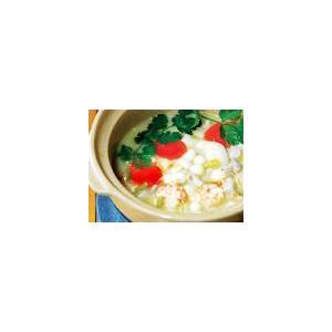 百合鸡蛋黄汤