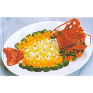 蟹黄煎虾脯