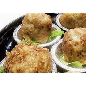 鸡茸虾米丸子