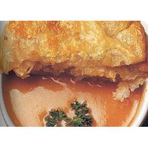 酥皮海鲜汤