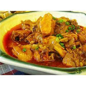 姜汁蚌肉汤