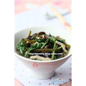 肘子菜豆汤