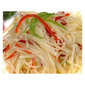 青红椒土豆丝