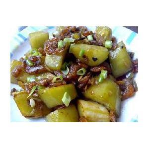 黄瓜炒子虾
