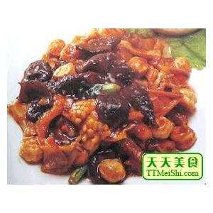 笋菇炖海参
