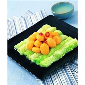 煎蒸白菜卷