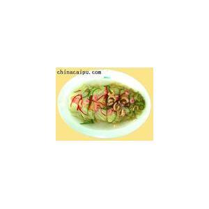 肥肠扒白菜