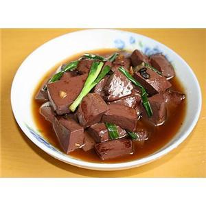 菠菜猪红汤