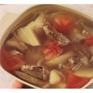 鲜蘑烩鱼片