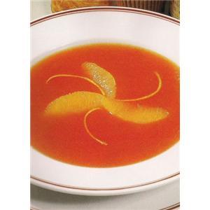 胡萝卜甜橙汤