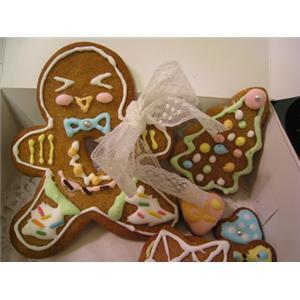 圣诞饼干玻璃心