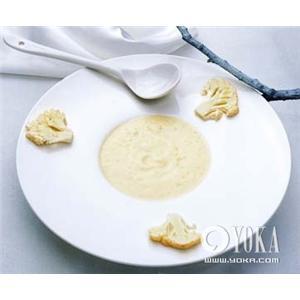 奶油菜花色拉