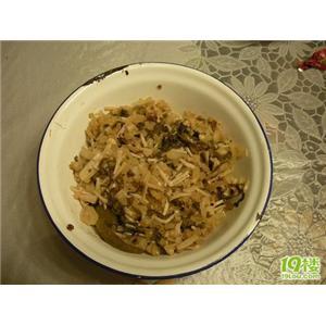 雪菜肉丝汤