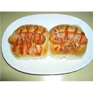 豆奶火腿面包早餐
