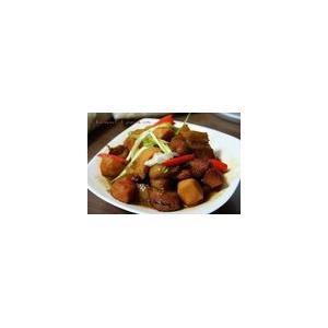 慈菇焖腩肉