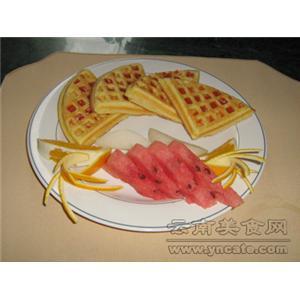 香橙水果松饼