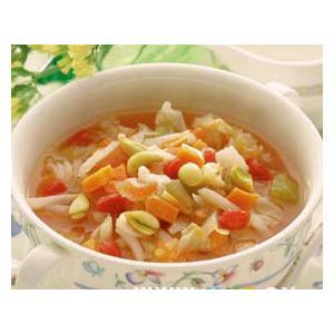 番茄大豆芽草菇豆腐汤