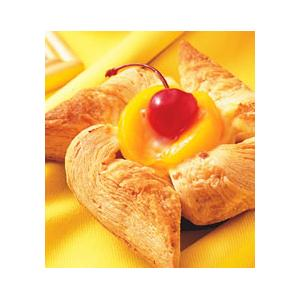水果风车装饰松饼