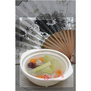 砂锅鸡肉冬瓜汤