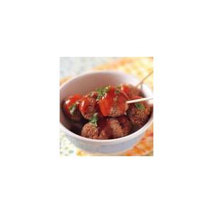 茄汁牛肉丸