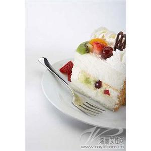 蓝莓慕斯蛋糕卷