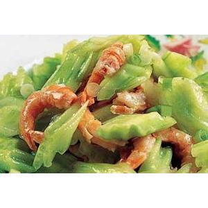 黄瓜拌虾片