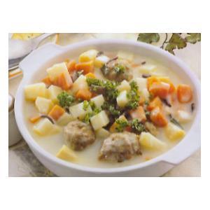 蘑菇鸡丁奶油汤