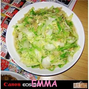 圆白菜虾皮