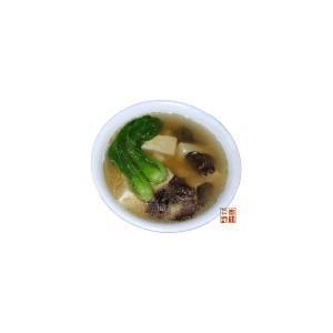 菜心豆腐汤