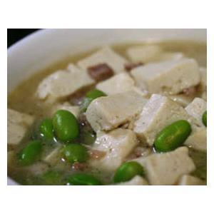 肉丁黄豆汤