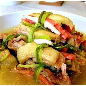 鸭骨玉兰片汤