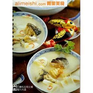 翡翠豆腐汤