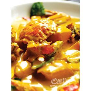 蟹黄豆腐丸