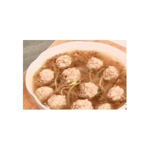 沙锅冬菜丸子汤