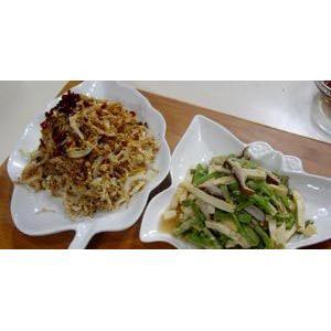 豆腐干拌贡菜