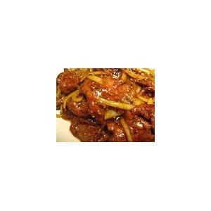 鸡油扒龙须菜