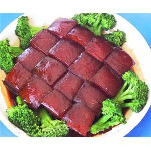 沙锅炖东坡肉